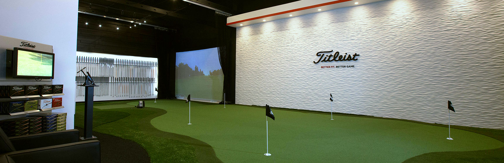 Tour Greens Charlotte | Indoor Putting Green Installers