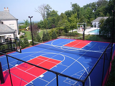 versacourt multi-sport game court