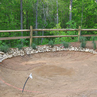 Tour Greens Charlotte | Backyard Putting Green Installation