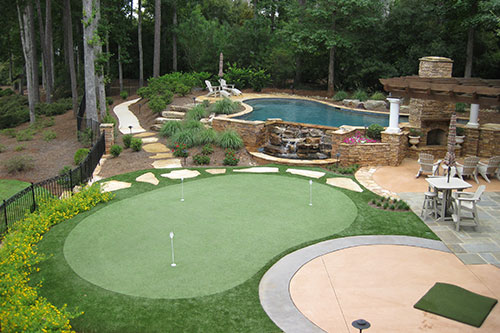 Tour Greens Charlotte Tour Quality Synthetic Turf