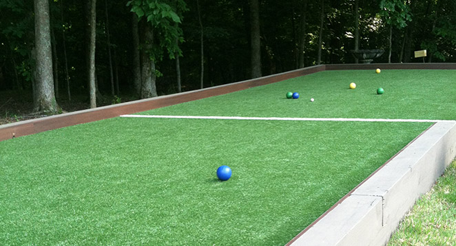 tour greens charlotte bocce court construction installation